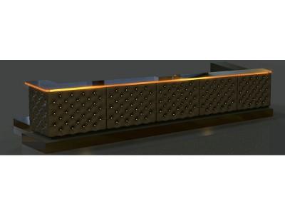 10 Maxim capitonated bar